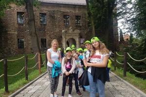 Wycieczka do zamku w Toszku