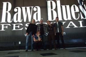 Blue Band Blues na festiwalu Rawa Blues