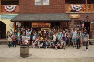 Wycieczka do Miasteczka Westernowego Twinpigs