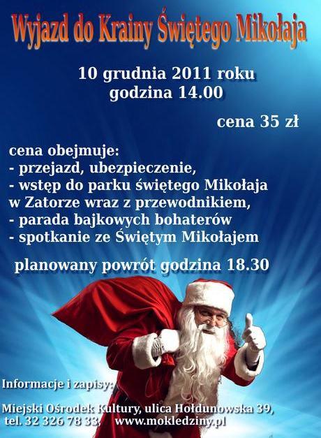 Wyjazd doKrainy Świętego Mikołaja