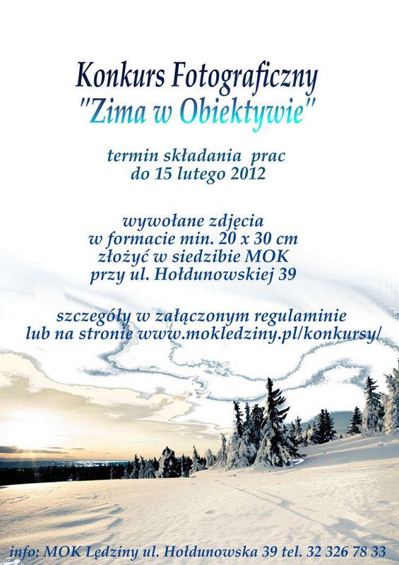 Zima wobiektywie 2012
