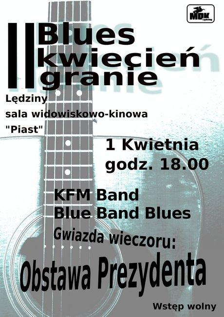 II Blues Kwiecień Granie