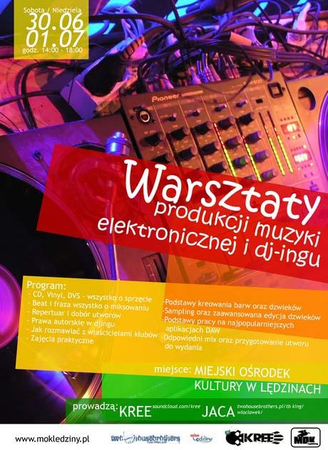 Warsztaty Tworzenia Muzyki Elektronicznej