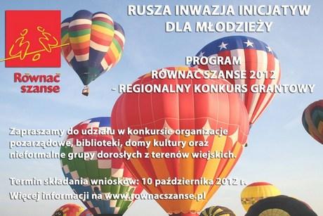 RÓWNAĆ SZANSE 2012