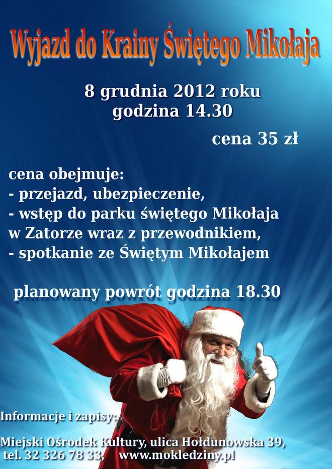 Wyjazd doParku Świętego Mikołaja