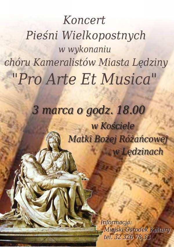 Koncert Pieśni Wielkopostnych