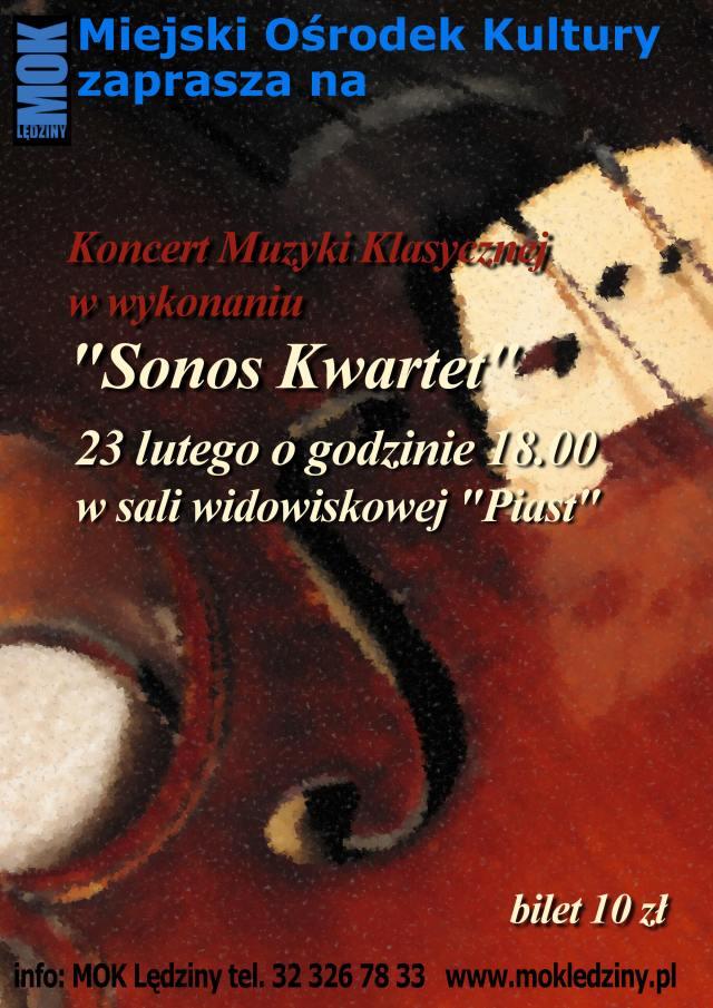 "Koncert ""Sonos Kwartet"""