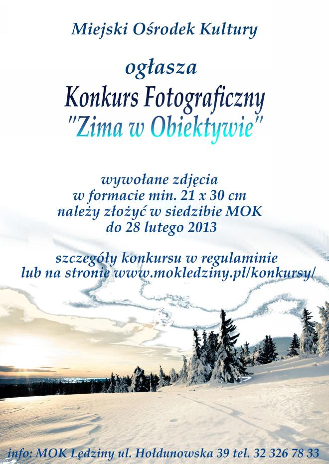Zima wobiektywie 2013