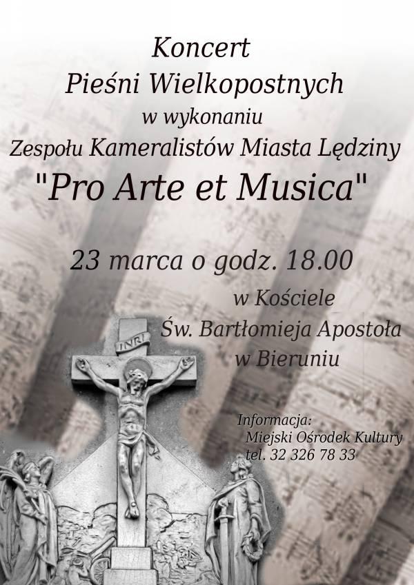 Koncert Pieśni Wielkopostnych wBieruniu