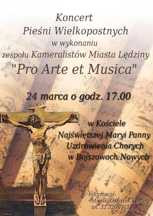 Koncert Pieśni Wielkopostnych wBojszowach Nowych