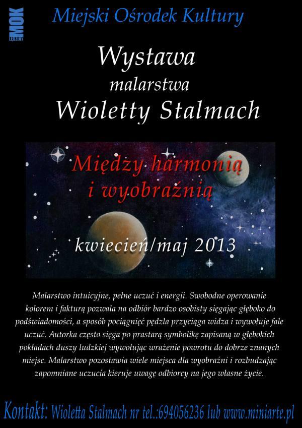 Wystawa malarstwa Wioletty Stalmach