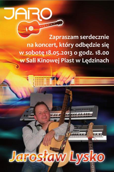 Koncert Jarosława Lysko