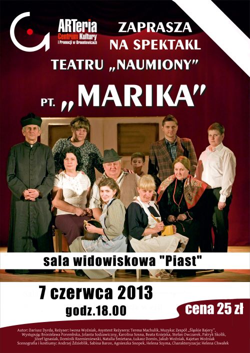 """Spektakl """"Marika"""""""
