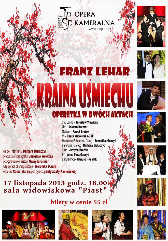 """Operetka """"Kraina Uśmiechu"""""""