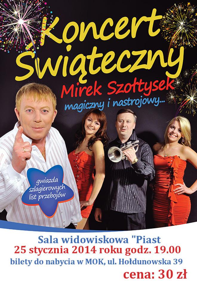 Koncert Świąteczny Mirka Szołtyska