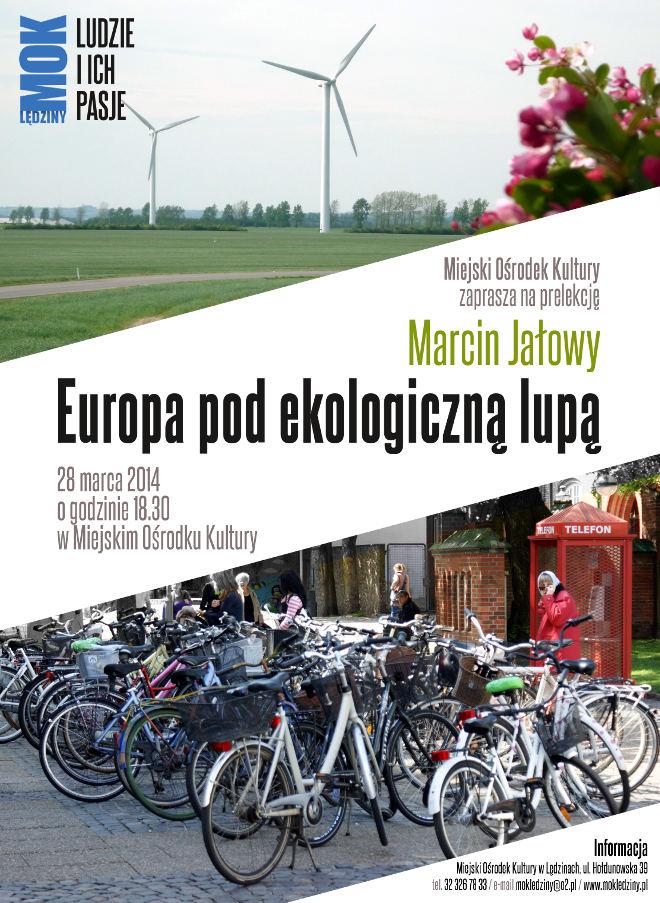 Europa podekologiczną lupą