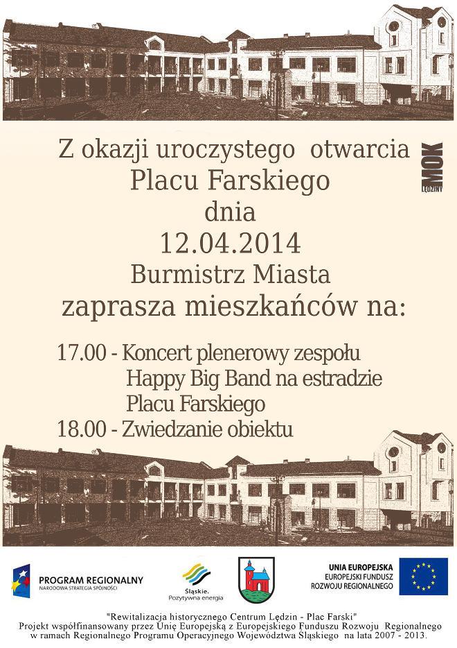 Otwarcie Placu Farskiego