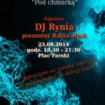 DJ Rynia na Placu Farskim