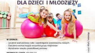 Gimnastyka korekcyjna dla dzieci i młodzieży