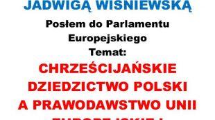 Spotkanie z Jadwigą Wiśniewską
