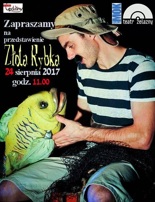 """Przedstawienie teatralne """"Złota rybka"""""""