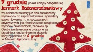 Jarmark świąteczny – Informacja dla przedsiębiorców