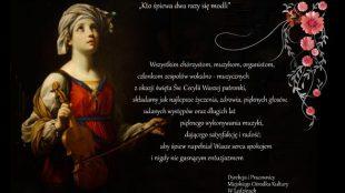 Życzenia z okazji wspomnienia Świętej Cecylii