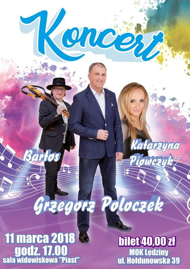Koncert Grzegorza Poloczka