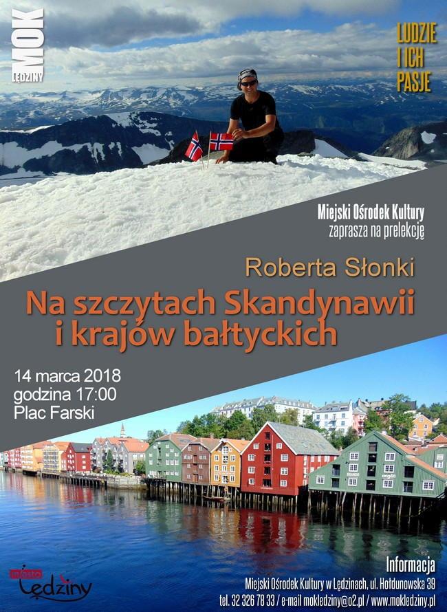 Na szczytach Skandynawii ikrajów bałtyckich