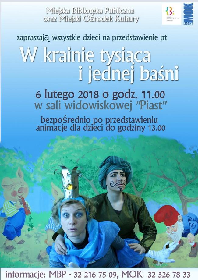 Przedstawienie Wkrainie tysiąca ijednej baśni