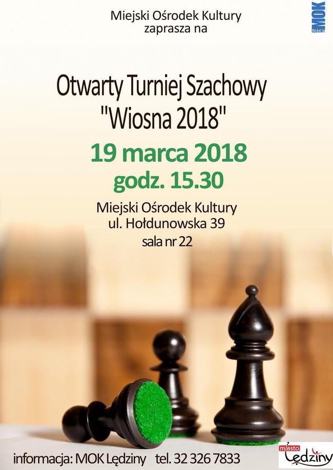 """Otwarty Turniej Szachowy """"Wiosna 2018"""""""