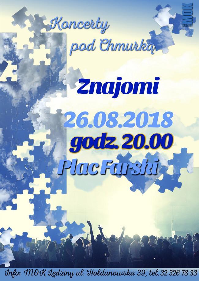 """Koncert zespołu """"Znajomi"""""""