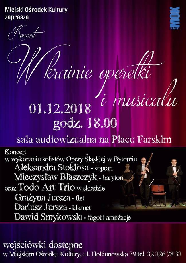"""Koncert """"W krainie operetki imusicalu"""""""
