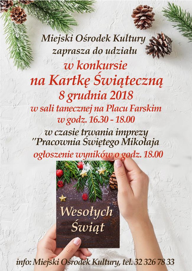 Konkurs nakartkę świąteczną