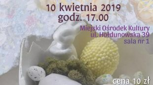 Gipsowe jaja wielkanocne - warsztaty dla dorosłych