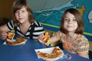 Warsztaty zrobienia pizzy