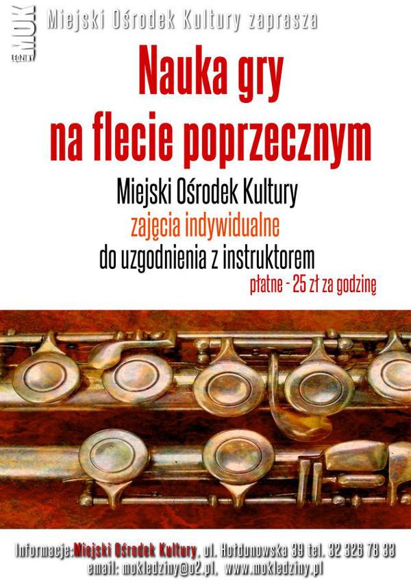 Nauka gry na flecie poprzecznym