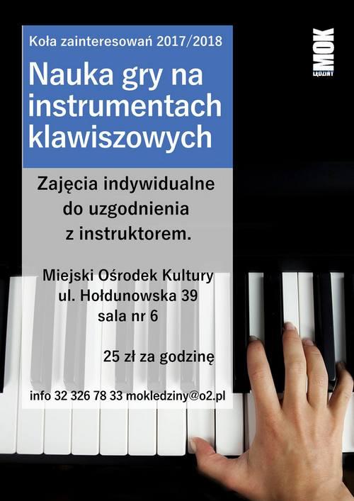 Nauka gry na instrumentach klawiszowych