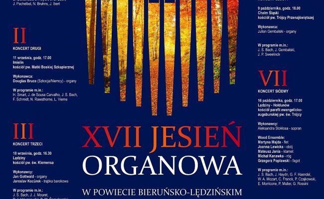 XVII Jesień Organowa w Powiecie Bieruńsko-Lędzińskim