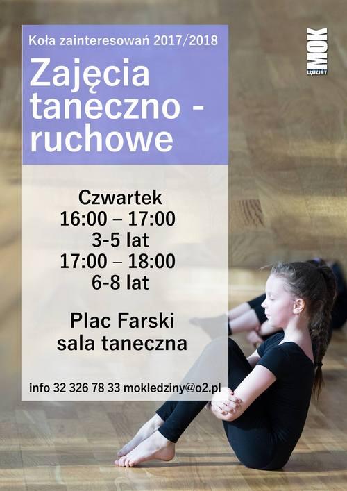 Zajęcia taneczno-ruchowe