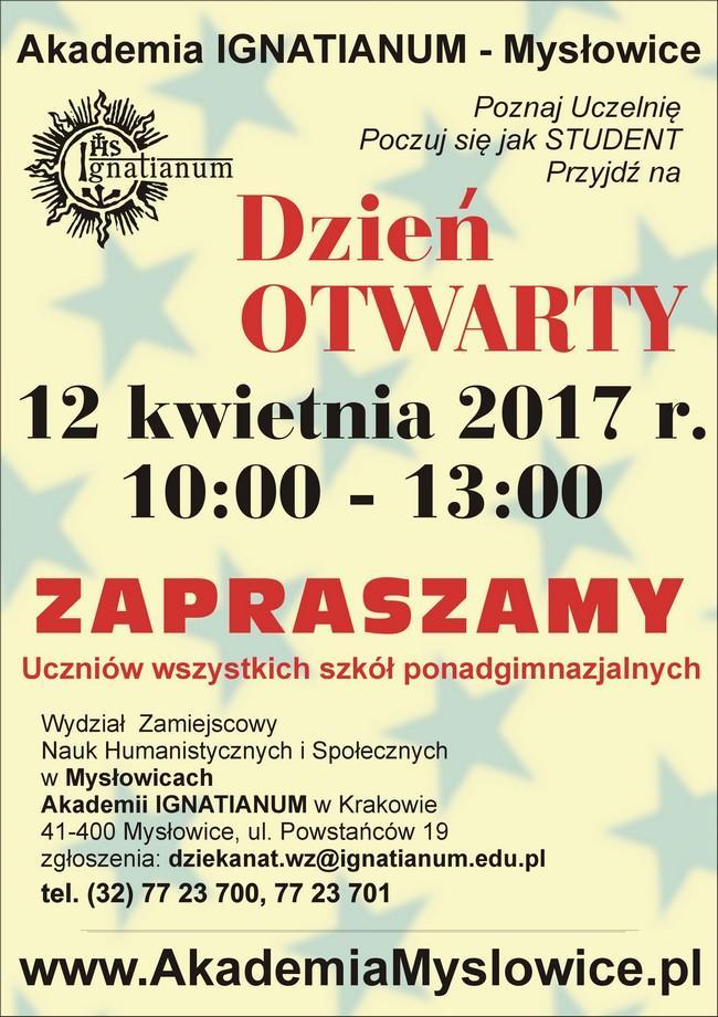 Dzień Otwarty w Akademii IGNATIANUM