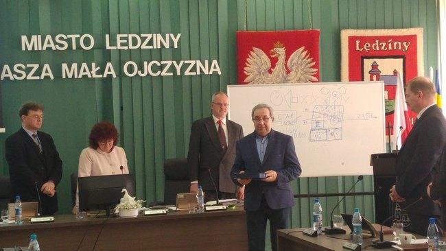 Nagroda dla Franciszka Moskwy