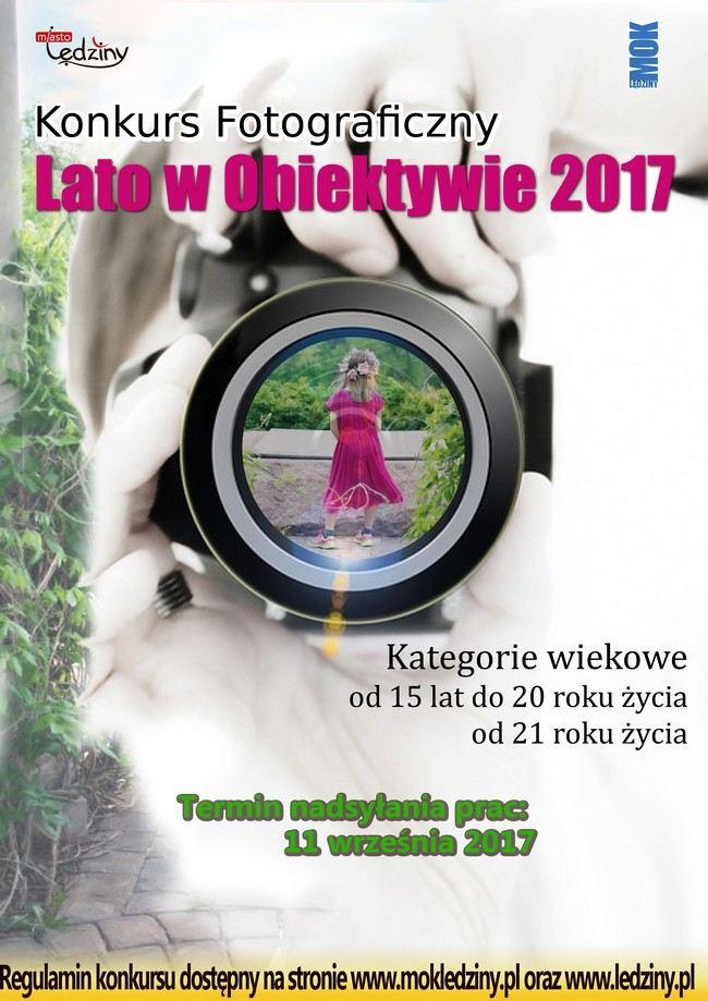 """Konkurs fotograficzny """"Lato w obiektywie 2017"""""""