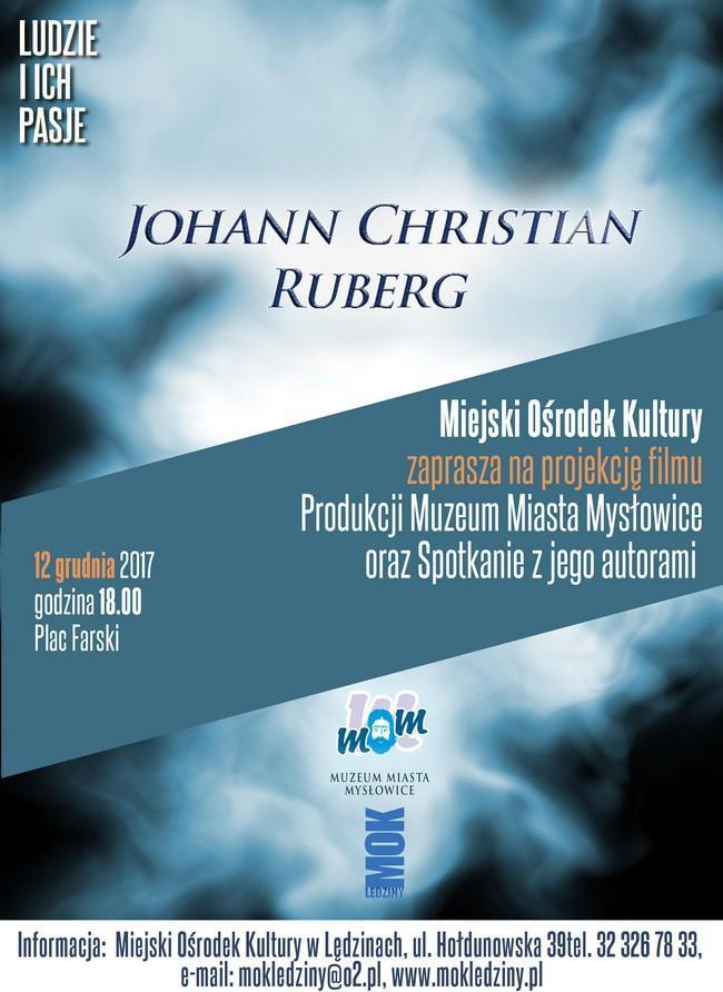 Projekcja filmu o Johannie Christianie Rubergu
