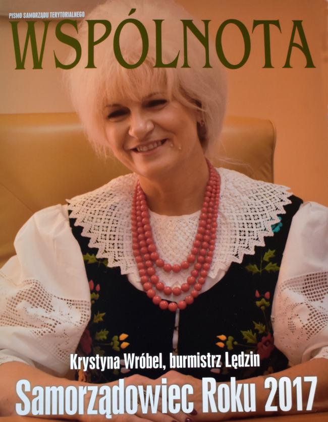 Burmistrz Krystyna Wróbel