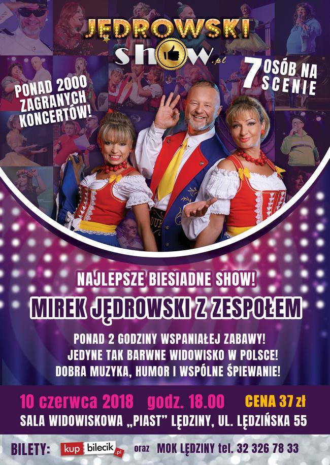 Koncert Mirek Jędrowski Show