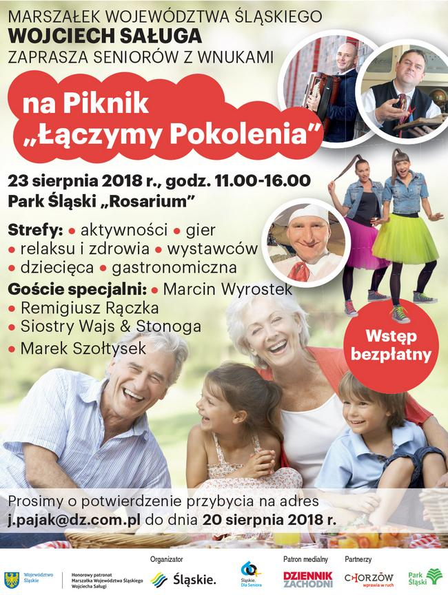 """Piknik """"Łączymy Pokolenia"""""""