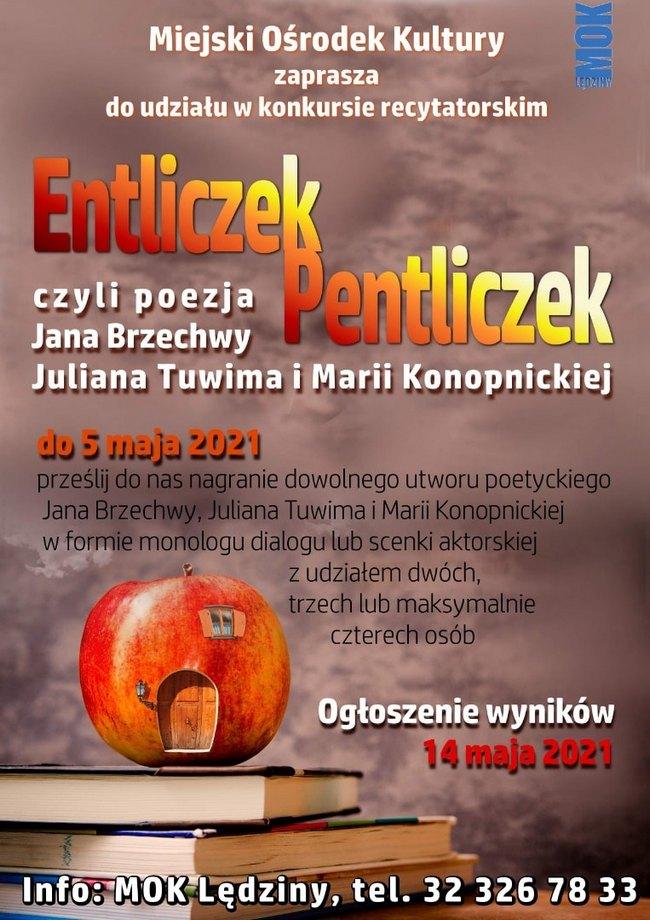 Plakat Entliczek 2021