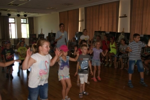 Zajęcia taneczne naPlacu Farskim
